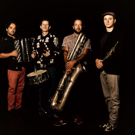 Les quatre musiciens d'Imperial Orpheon